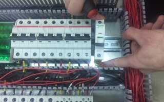 Как поменять автоматический выключатель самостоятельно